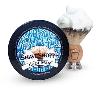 New & improved cool man shave soap