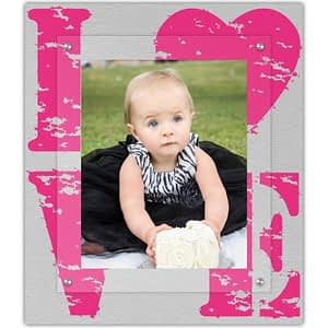 Pink Quad Love frame as a gift