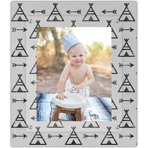 Celebrate your tribe with The Modern Angle Teepee wall art