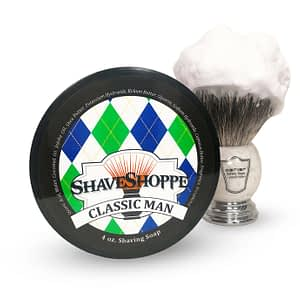 New & improved classic man shave soap