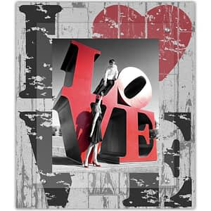 Modern Farm House Quad Love picture frame we know you love someone.