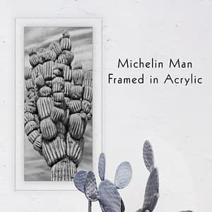 The Michelin Man Wall Art by The Modern Angle