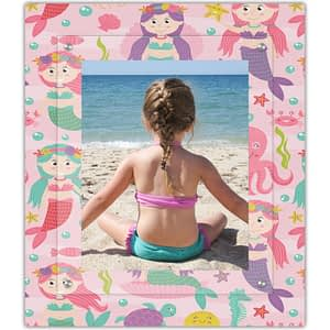 Down by the sea our mermaid frame is a splash of modern to the frame